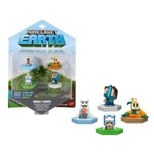 Minecraft Earth Mini Figures 4-pack